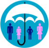 Icon to illustrate health insurance for chiropractic