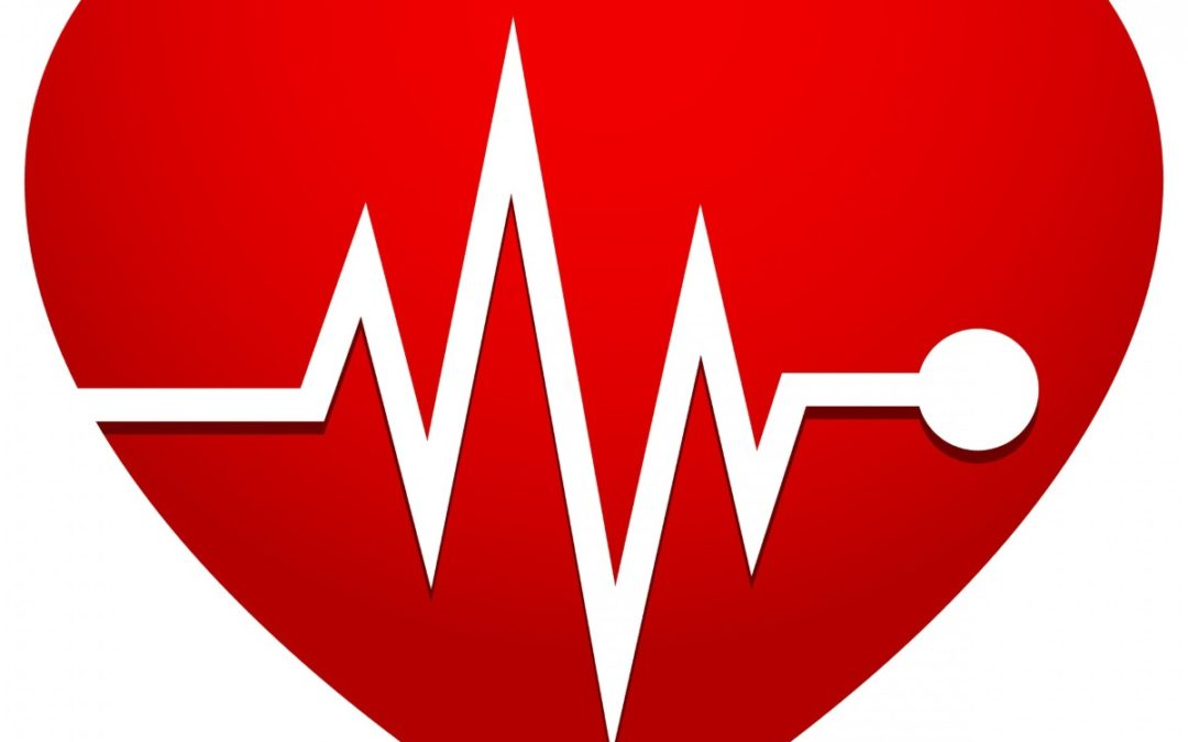 image for blog post on target heart rate